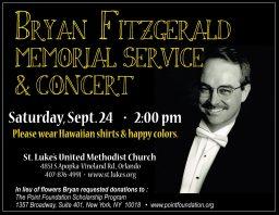 Bryan Fitz memorial