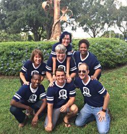 St. Luke's U shirts group photo