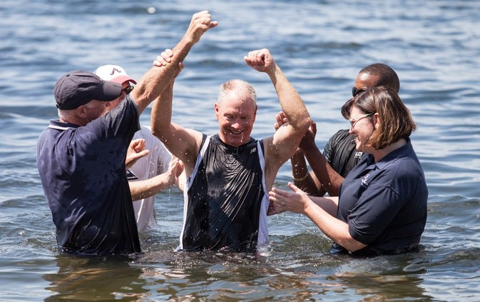 Steve M baptism