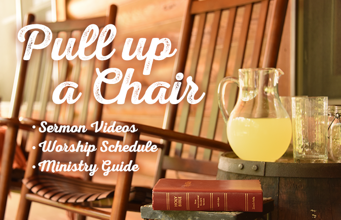 Pull Up a Chair Web Banner