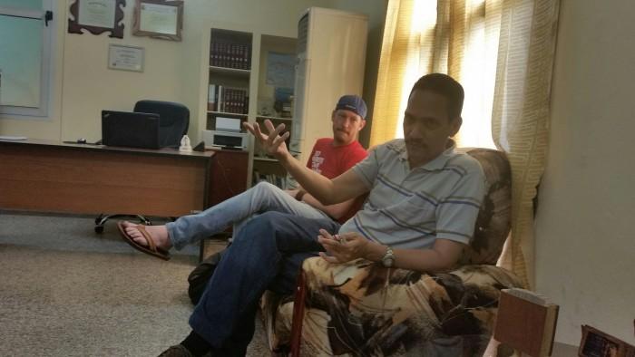 Seminary visit in Havana