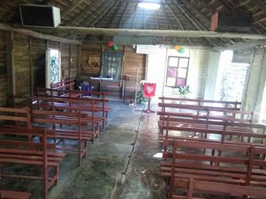 cuba worship space