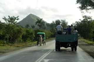 road in Cuba